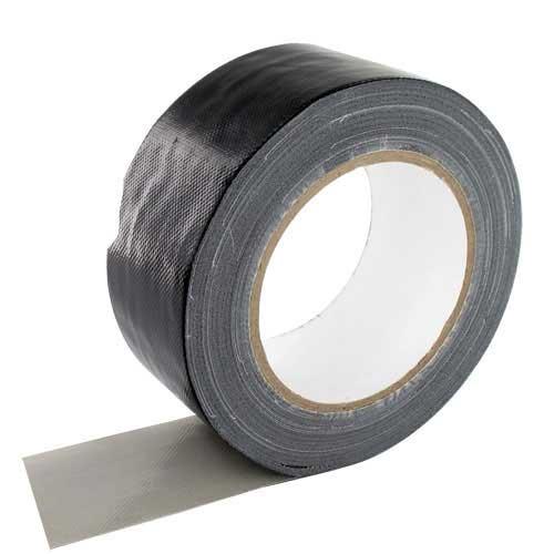 Duct Tape 50mmx25mtr zwart