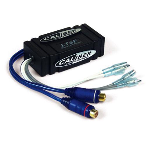 High power speaker-line in adapter versterker op rca female