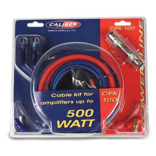 kabel kit voor versterkers tot 500 watt