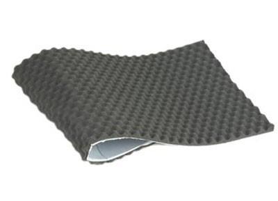 Geluidsabsorberende schuimstof 500x780x20mm 5x