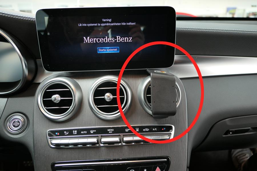 Proclip Mercedes Benz GLC-Class 20- Center mount