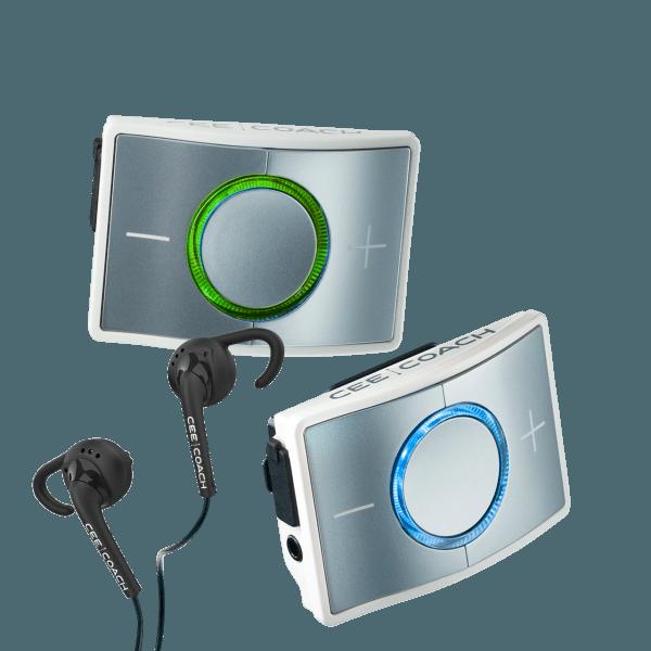 CEECOACH 2 communicatie duo set  kleur wit