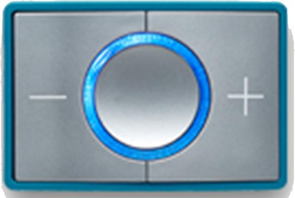 CEECOACH 2 communicatie single set  kleur turquoise